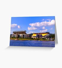 Pittsburgh's Heinz Field Greeting Card