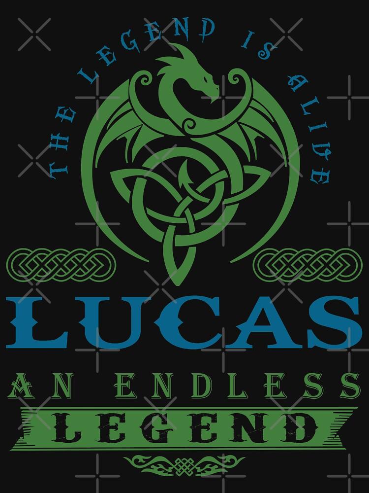 Legend T-shirt - Legend Shirt - Legend Tee - LUCAS An Endless Legend by wantneedlove