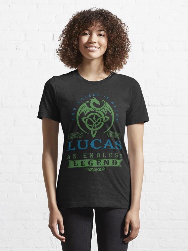 Alternate view of Legend T-shirt - Legend Shirt - Legend Tee - LUCAS An Endless Legend Essential T-Shirt