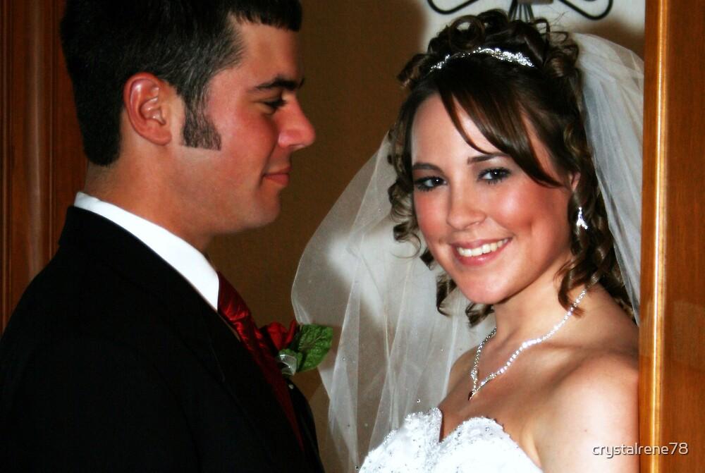Admiring his beautiful bride by crystalrene78