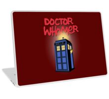 DOCTOR WHOMER Laptop Skin