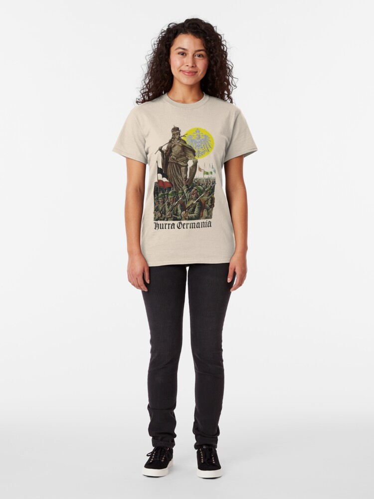 Alternate view of Germania encouraging soldiers.. 1914 Classic T-Shirt
