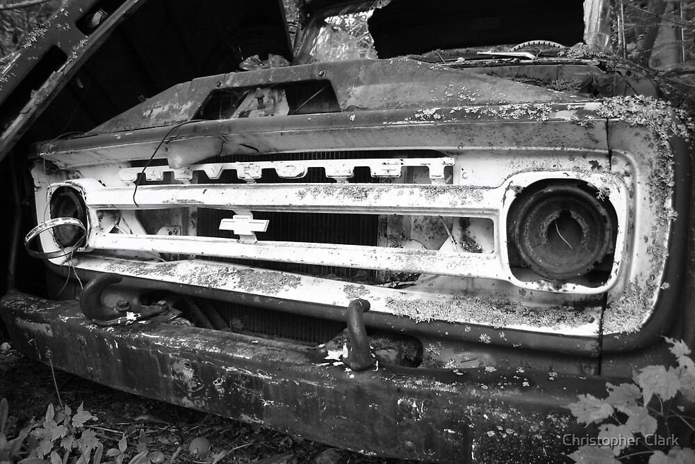 Old truck 2 by Christopher Clark