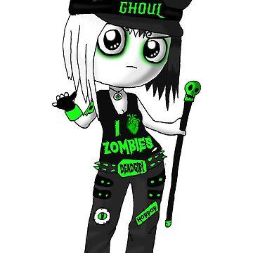 Goths- Horror Punk by Littlehorrors