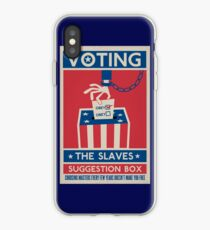 Voting: The Slaves Suggestion Box iPhone Case