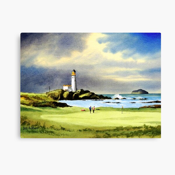 Turnberry Golf Course Scotland 10th Hole Canvas Print