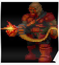 Doom Dos Posters Redbubble