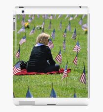Veterans Memorial Cemetery iPad Case/Skin