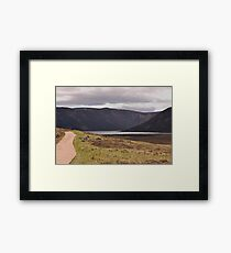 Path to Loch Muick Framed Print