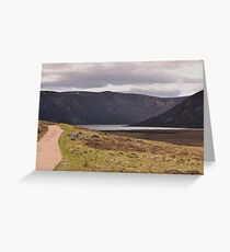 Path to Loch Muick Greeting Card