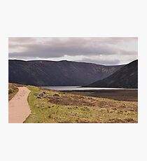 Path to Loch Muick Photographic Print