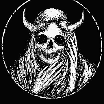 Epic Skull, Satanic Shirt, Satan Occult, Death Metal, Metal Head, Rock Band, Hard Rock, Heavy Metal by kraftd