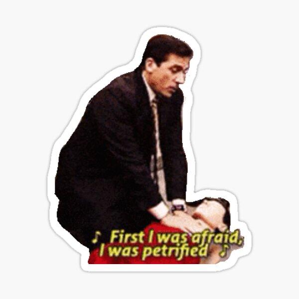 Michael Scott CPR Scene Sticker