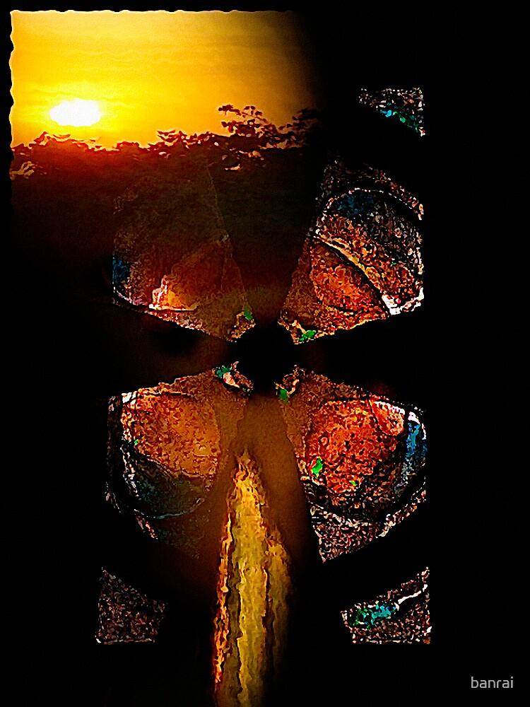 ancient sunset....... sign pendant by banrai