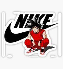 Goku nike Sticker