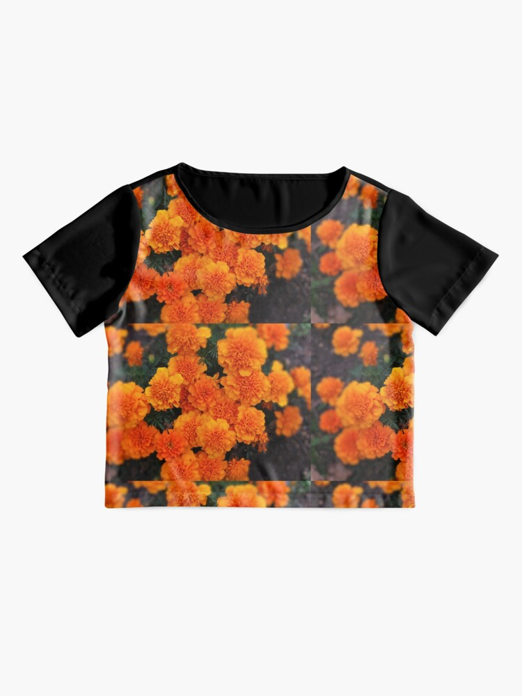 Alternate view of  Mexican marigold flower Chiffon Top