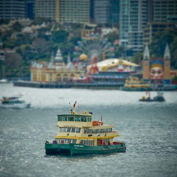 Sydney Harbour Mini by Georgekaye