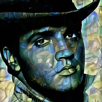 The Hat King - Léa Roche paintings - Elvis Preysley by LEAROCHE