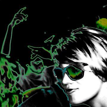 Green dream disco by Georgekaye