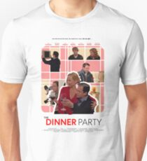 The Office Dinner Party Poster Unisex T-Shirt