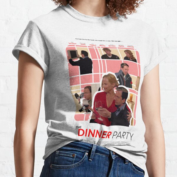 The Office Dinner Party Poster Classic T-Shirt
