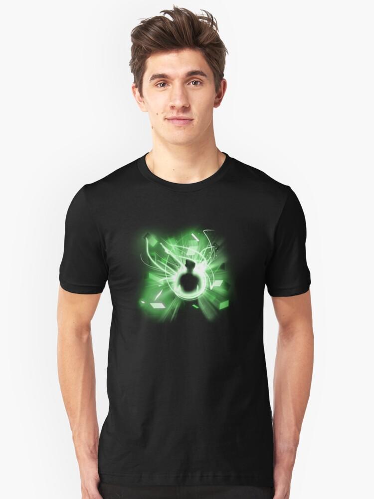 Follow the light Unisex T-Shirt Front