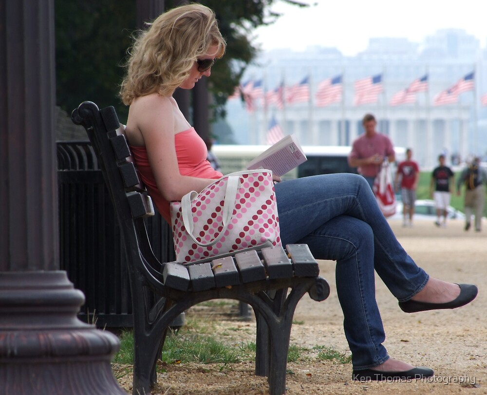 Casual Reader by Ken Thomas Photography