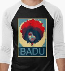 Badu is Hope Men's Baseball ¾ T-Shirt