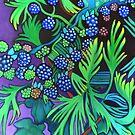 Blackberries and Cedar by Lori Elaine Campbell