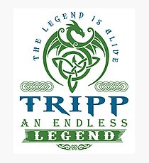 Legend T-shirt - Legend Shirt - Legend Tee - TRIPP An Endless Legend Photographic Print