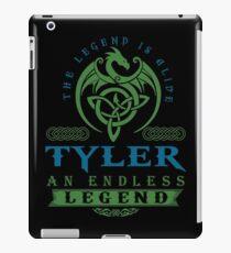 Legend T-shirt - Legend Shirt - Legend Tee - TYLER An Endless Legend iPad Case/Skin
