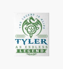 Legend T-shirt - Legend Shirt - Legend Tee - TYLER An Endless Legend Art Board