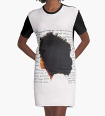 Always the baduest Graphic T-Shirt Dress
