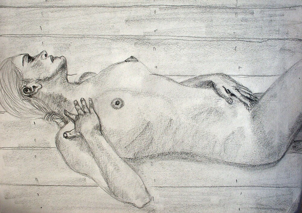 In the Sauna by Christopher  Raggatt