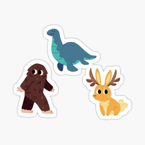 Cryptid Stickers Set 1 Sticker