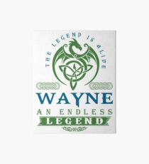 Legend T-shirt - Legend Shirt - Legend Tee - WAYNE An Endless Legend Art Board