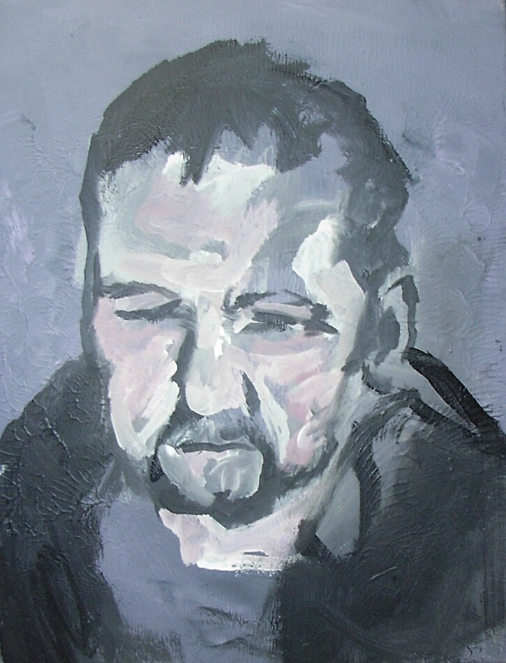 Portrait of Peter (I'm) A Hoogendorp by Claire Barker