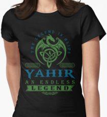 Legend T-shirt - Legend Shirt - Legend Tee - YAHIR An Endless Legend Women's Fitted T-Shirt