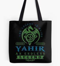 Legend T-shirt - Legend Shirt - Legend Tee - YAHIR An Endless Legend Tote Bag