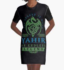 Legend T-shirt - Legend Shirt - Legend Tee - YAHIR An Endless Legend Graphic T-Shirt Dress