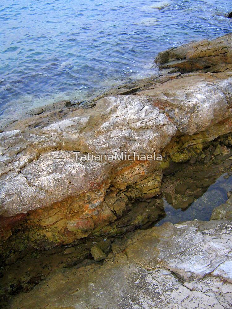 ROCKY MUSHROOMS IN THE SEA by TatianaMichaela