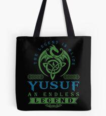Legend T-shirt - Legend Shirt - Legend Tee - YUSUF An Endless Legend Tote Bag
