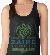 Legend T-shirt - Legend Shirt - Legend Tee - ZAIRE An Endless Legend Women's Tank Top