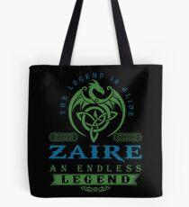 Legend T-shirt - Legend Shirt - Legend Tee - ZAIRE An Endless Legend Tote Bag
