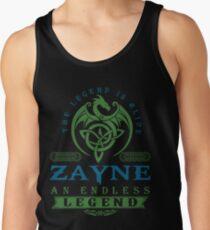 Legend T-shirt - Legend Shirt - Legend Tee - ZAYNE An Endless Legend Tank Top