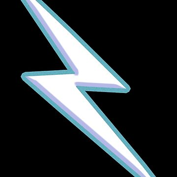LIGHTENING BOLT, FLASH by TOMSREDBUBBLE