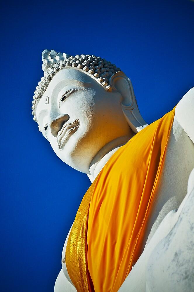 Buddha Statue Ayuthaya Thailand by ThaiDailyPhotos