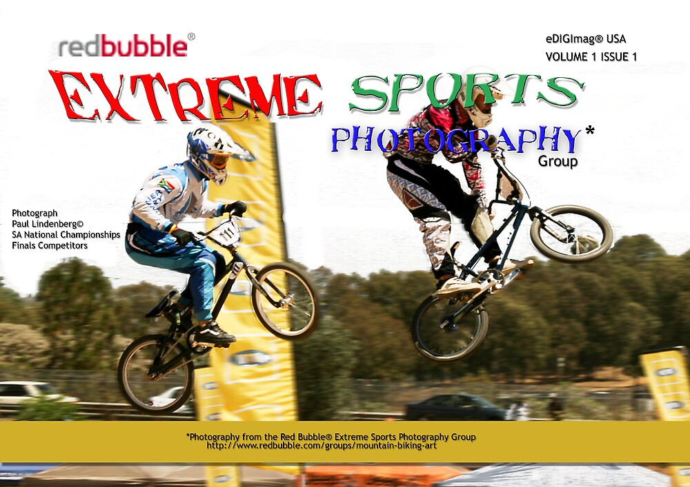 Extreme Sports Photography Group eMagazine Cover by Paul Lindenberg