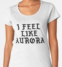 I Feel Like Aurora - Funny PABLO Parody Name Sticker Women's Premium T-Shirt