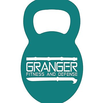 Granger Fitness and Defense Teal KB Logo by johngranger